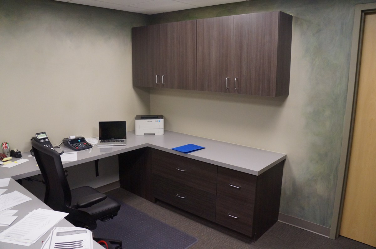 Custom cabinetry for your Kansas office