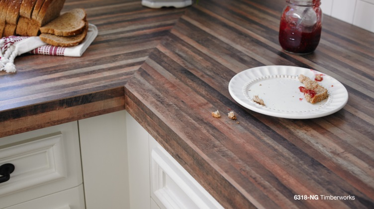 Laminate vs. Solid surface countertops