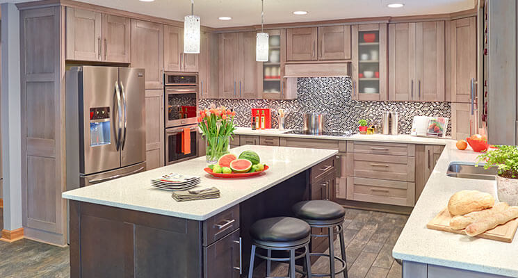 Custom kitchen cabinets in Kansas