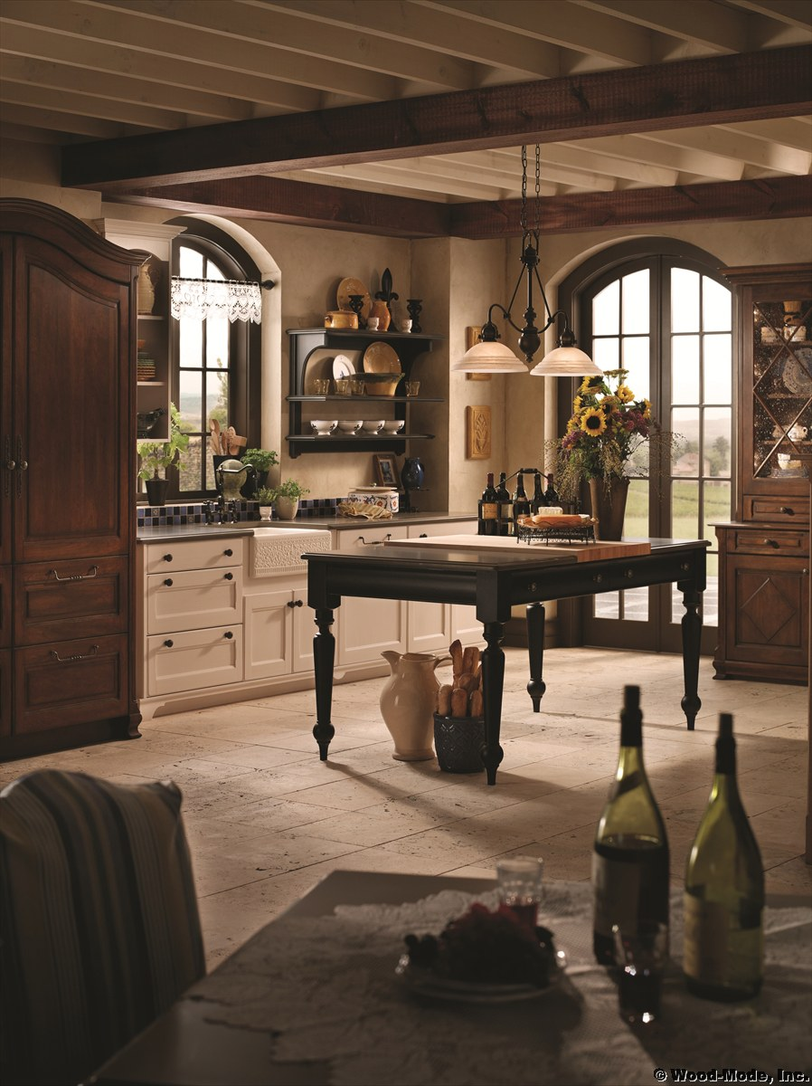 Custom kitchen cabinetry in any style