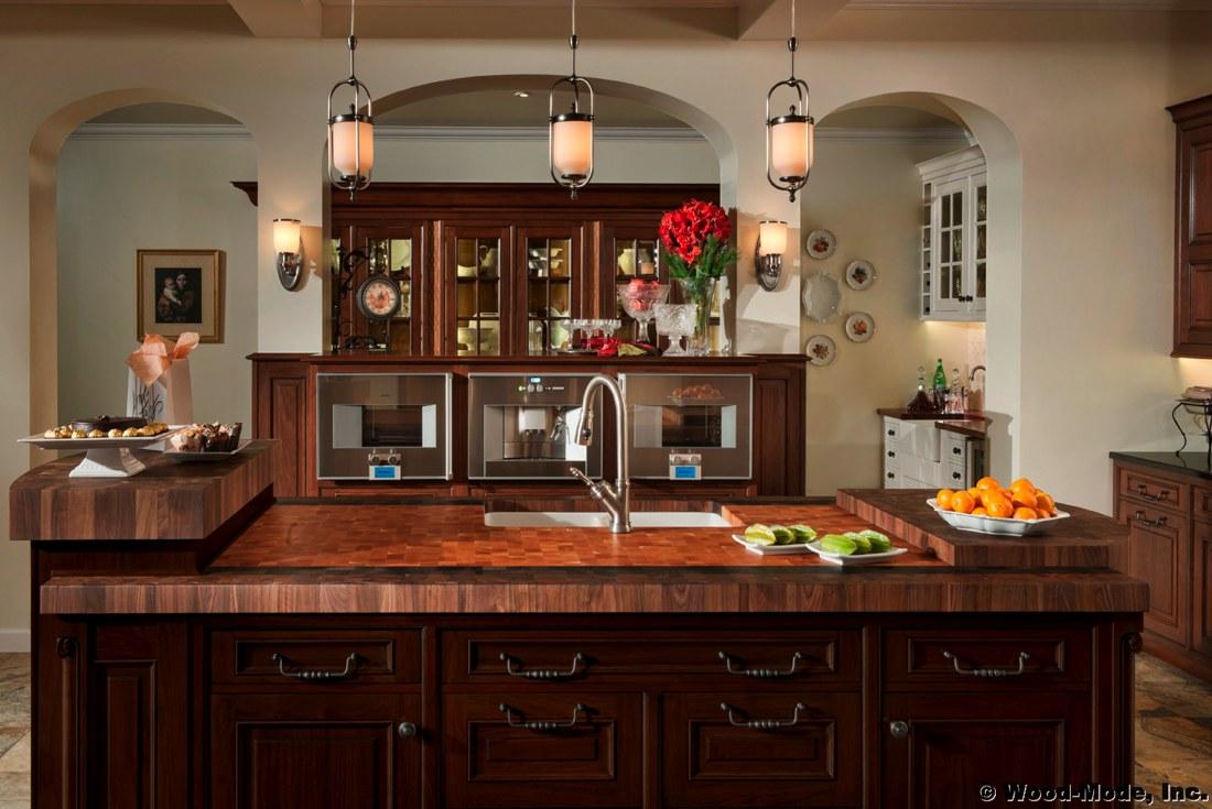 Choosing a wooden countertop