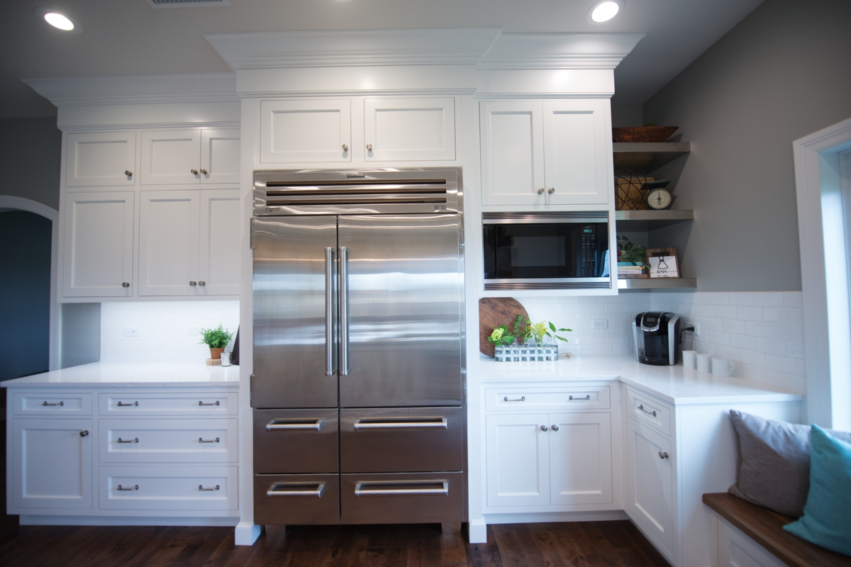 Custom kitchen cabinetry in Kansas
