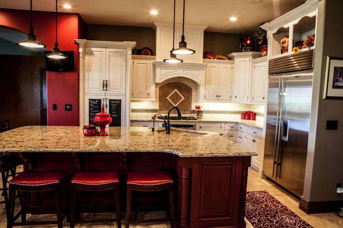 Custom cabinetry and countertops in Dodge City