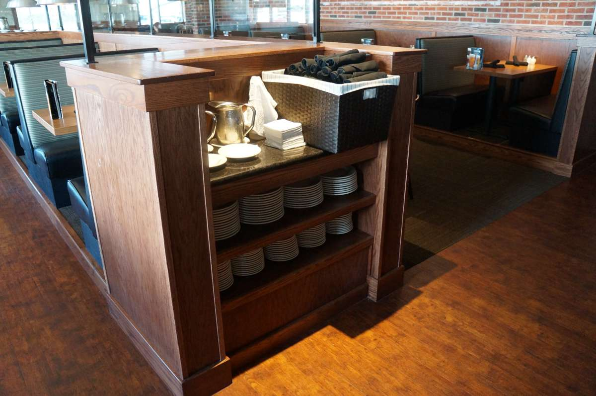 Architectural casework for the restaurant industry