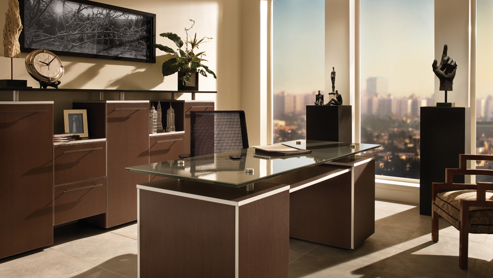 Custom office interior design