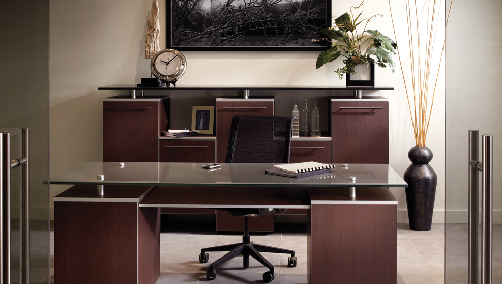 Designing a functional home office kitchens inc for Functional home office