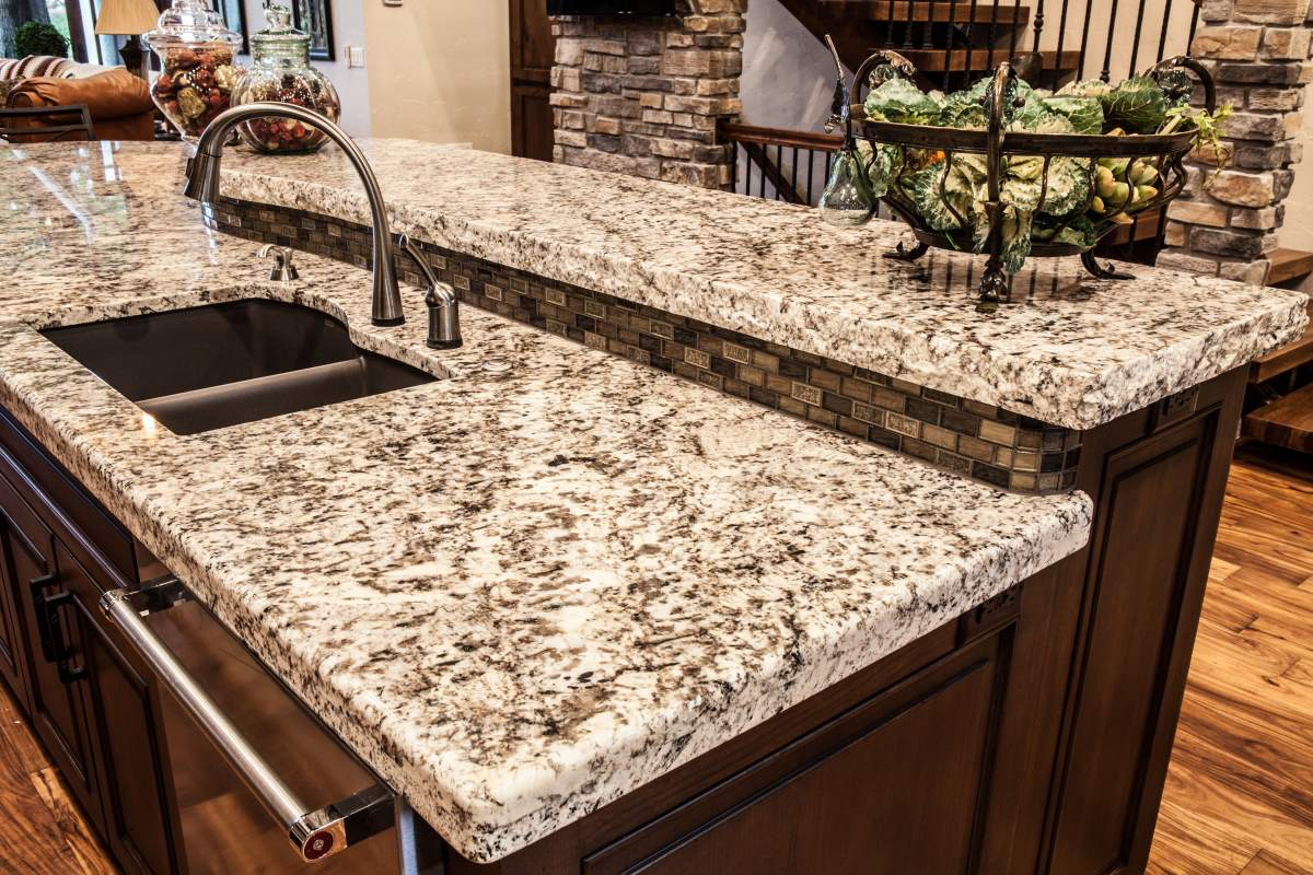 Custom kitchen cabinetry and countertops in Kansas