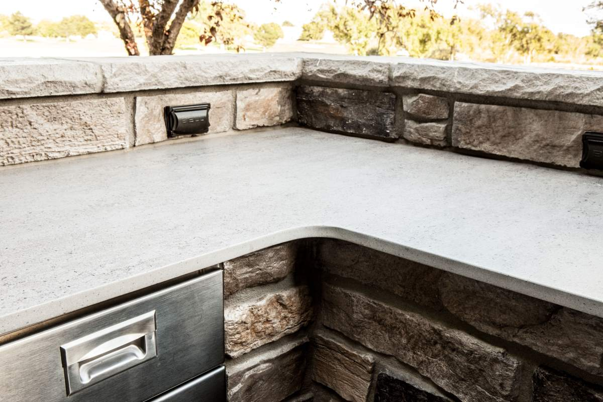 Classic outdoor kitchen design in Dodge City