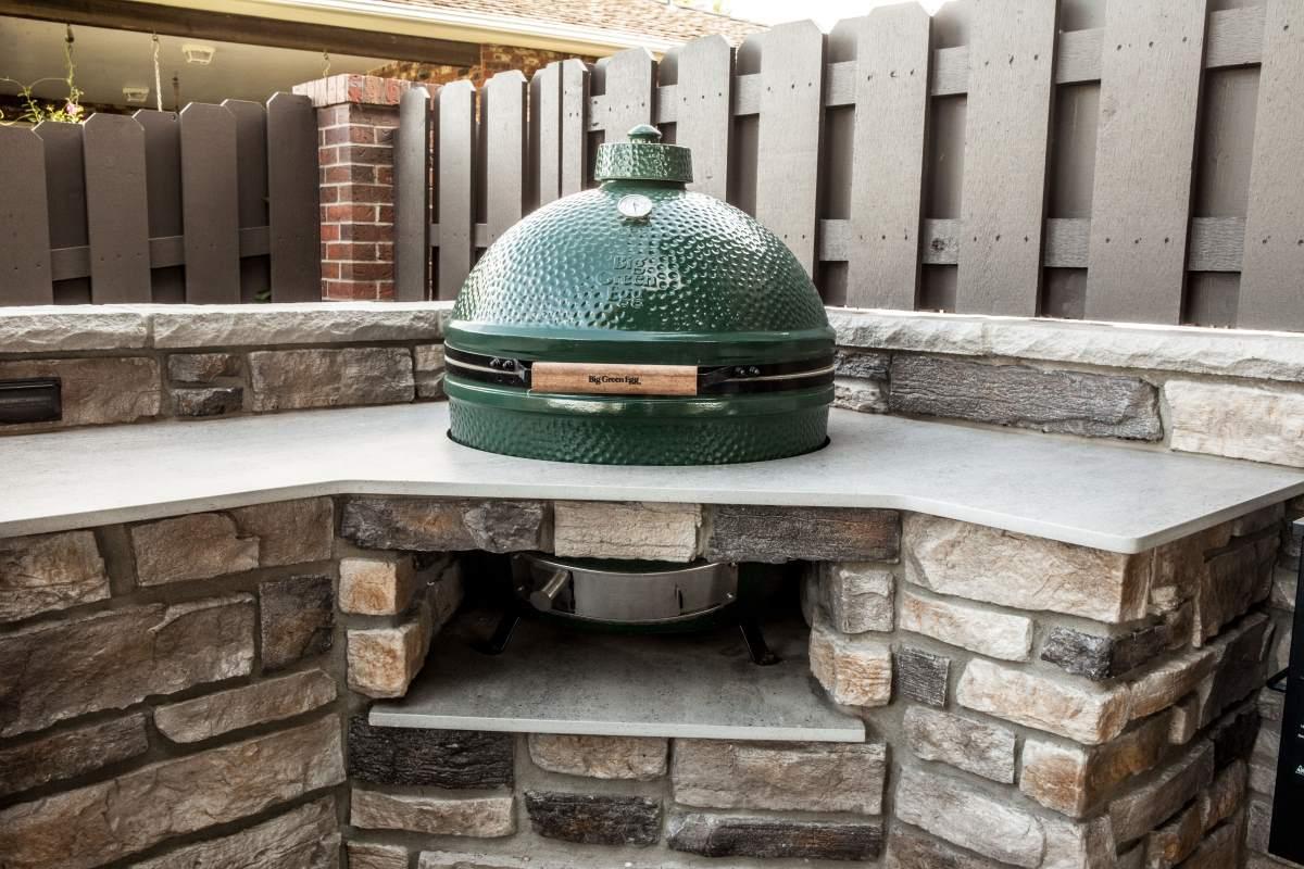 Custom outdoor kitchen design in Dodge City