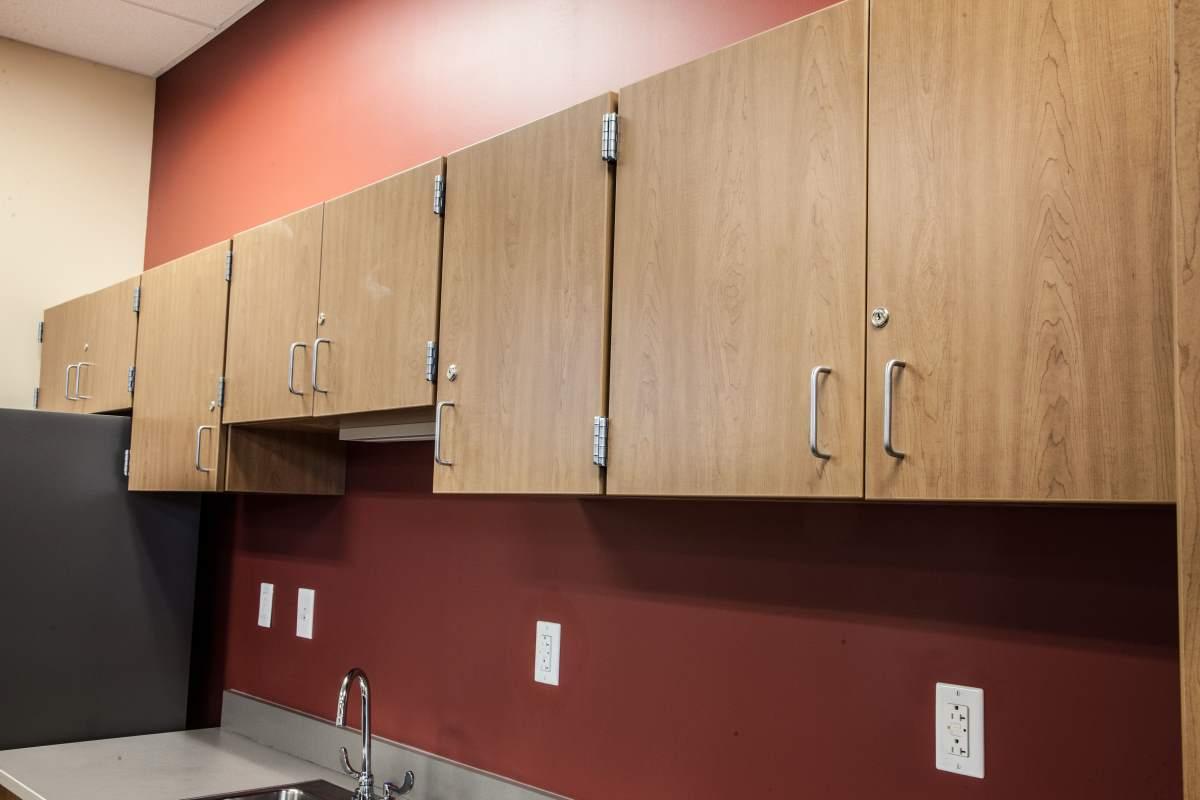 Modern kitchen cabinets in Dodge City