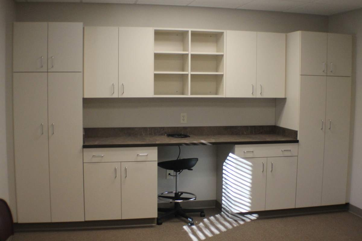 Custom cabinetry for offices