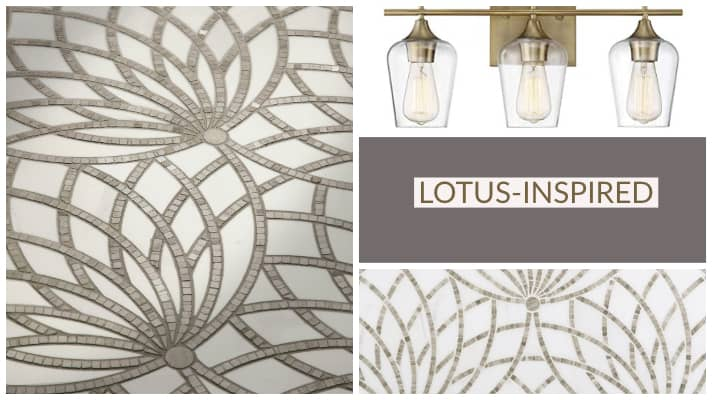 Bathroom Inspiration from the Lotus Flower