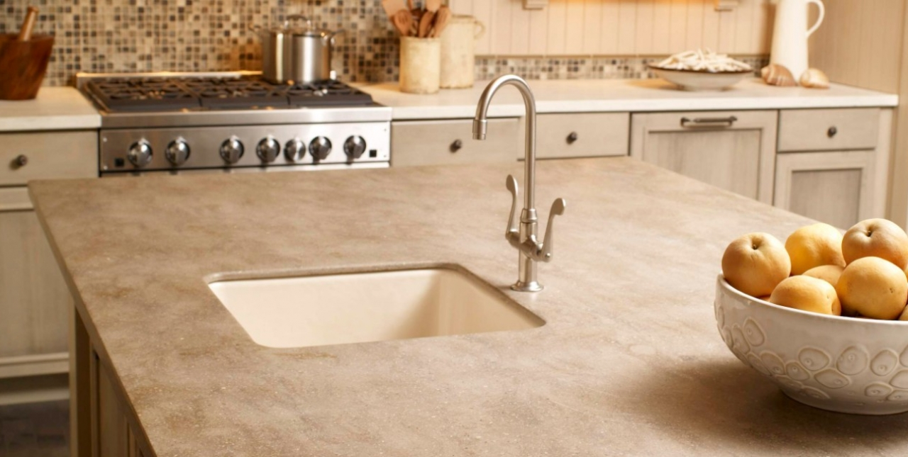 Solid Surface Counter Tops – Kitchens Inc